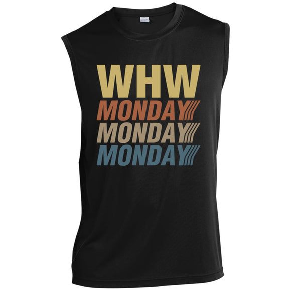 WHW Power Sleeveless Performance T-Shirt