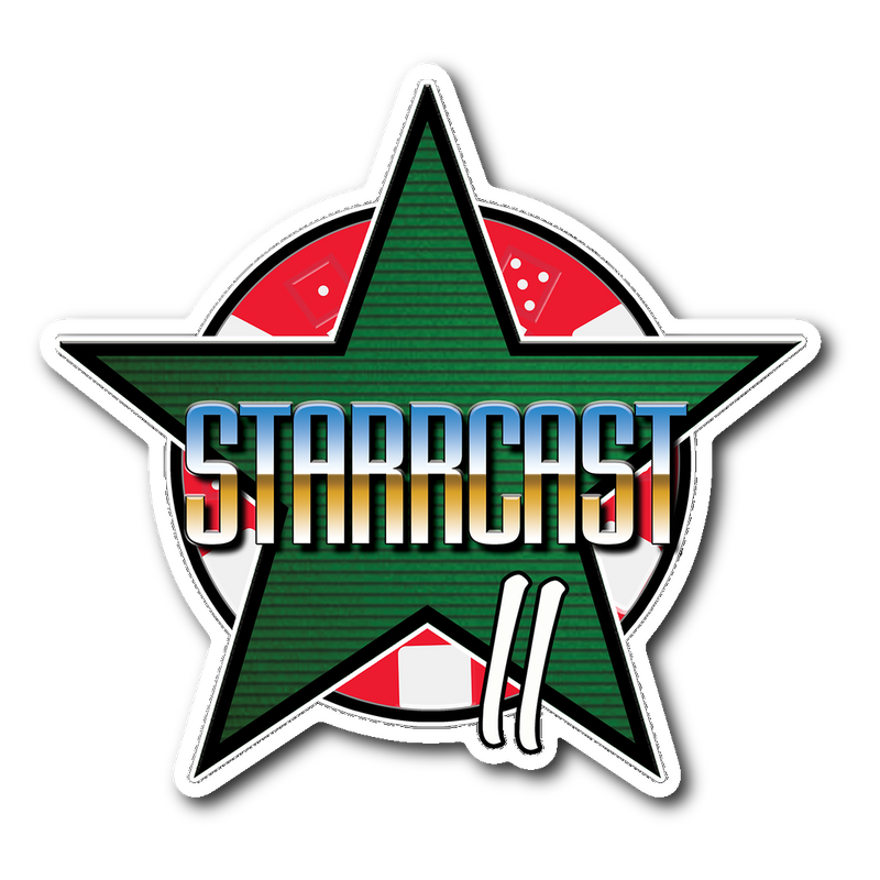 Starrcast 2 Die Cut Sticker