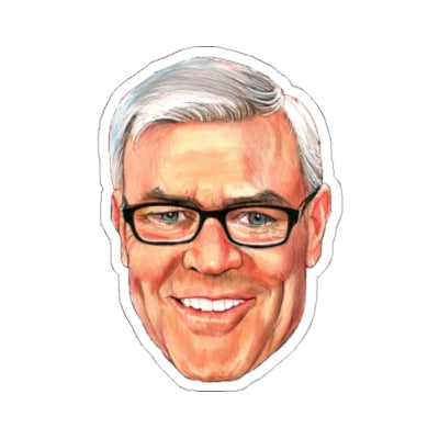 Eric Bischoff Kiss Cut Stickers