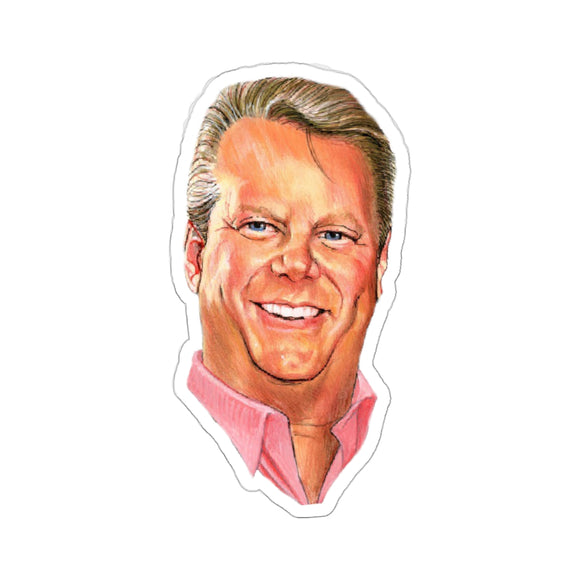 Bruce Prichard Kiss Cut Stickers