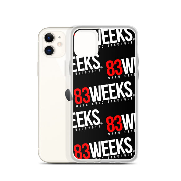 83 Weeks iPhone Case