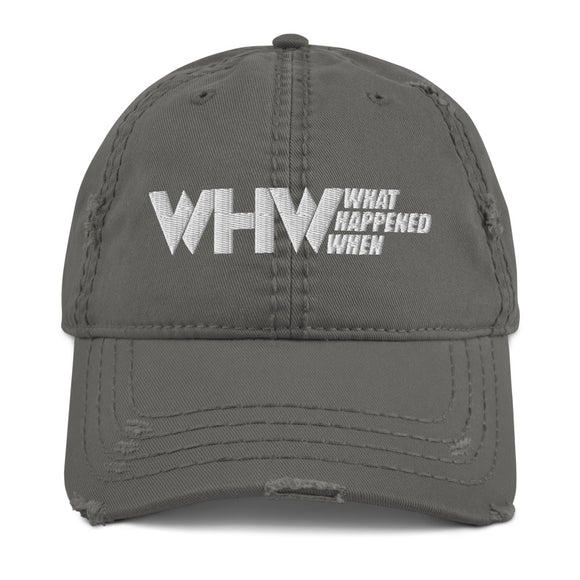 WHW Distressed Dad Hat