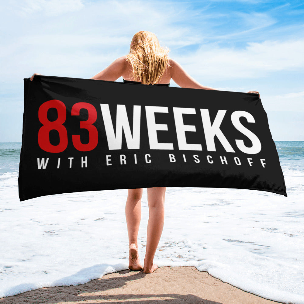 83 Weeks Beach Towel