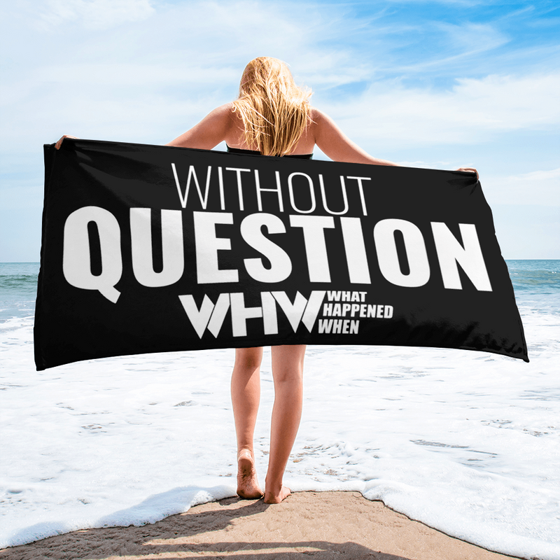 WHW Without Question Towel