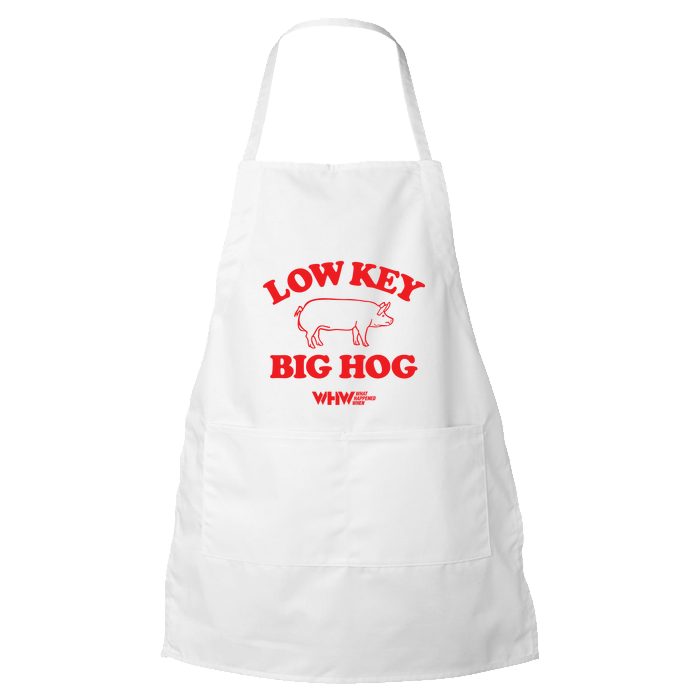 Low Key Big Hog Apron