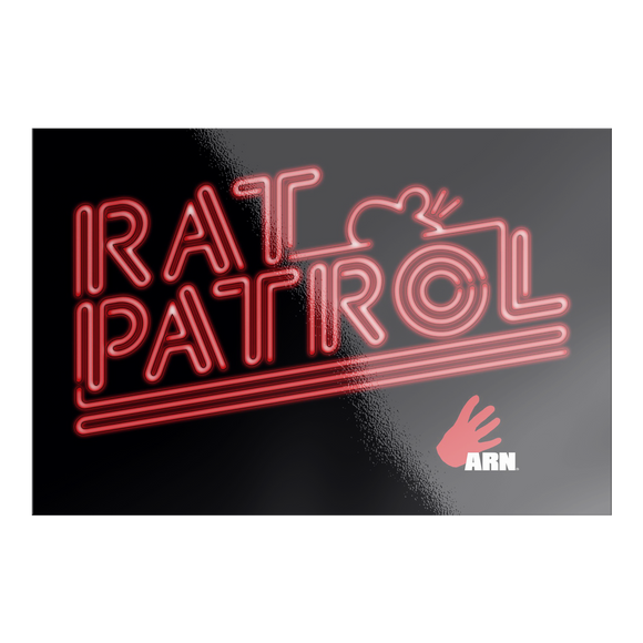 Rat Patrol Sticker