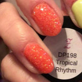 Tropical Rhythm DP198 peach fine glitter 198***