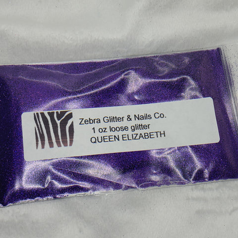 Holographic Loose Glitter Sales: QUEEN ELIZABETH .008 ultra fine custom mix purple