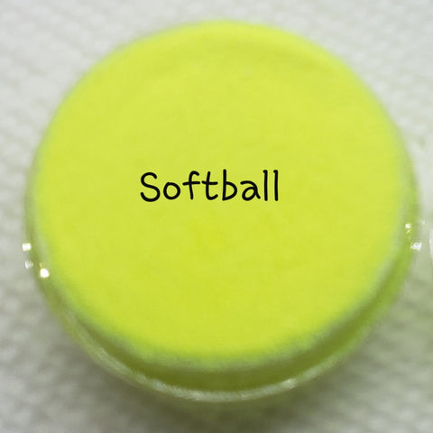 Fluorescent Loose Glitter Sales: Ultra Fine Softball - Zebra Glitter & Nails Company, LLC