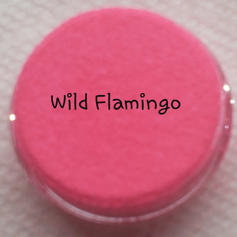 Fluorescent Loose Glitter Sales: Ultra Fine Wild Flamingo - Zebra Glitter & Nails Company, LLC