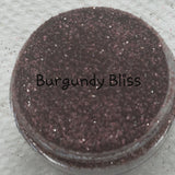 Cosmetic Mica Loose Glitter Sales: BURGUNDY BLISS .008 Ultra Fine burgundy