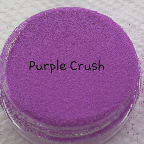 Fluorescent Loose Glitter Sales: Ultra Fine Purple Crush - Zebra Glitter & Nails Company, LLC