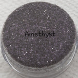 Loose Glitter Sales: AMETHYST .008 Ultra Fine purple