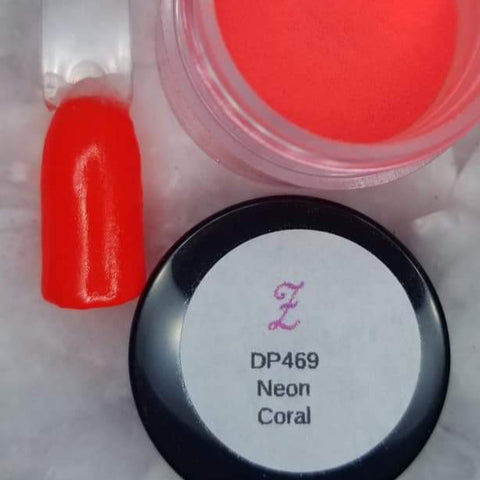 Paintball: Neon Coral DP469 Solid ***