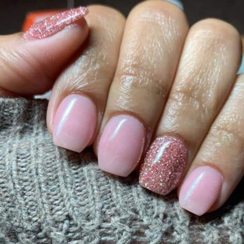 Golden Rose's Dp776 rose gold fine glitter ***