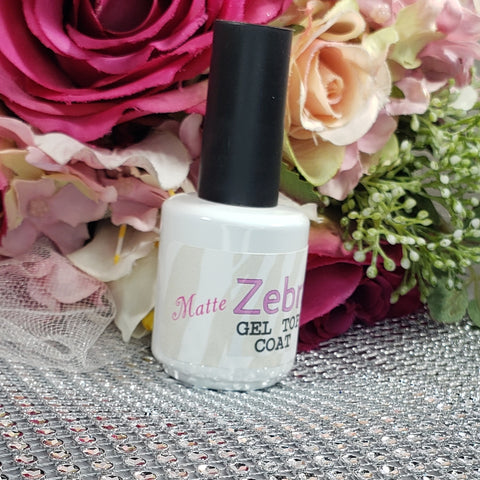 Gel No Wipe Matte Top Coat