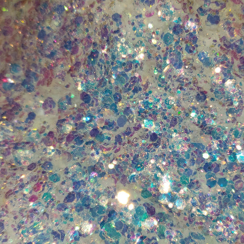 Loose Glitter Sales: MAGICAL OPALS Chunky Glitter Mix- Opal