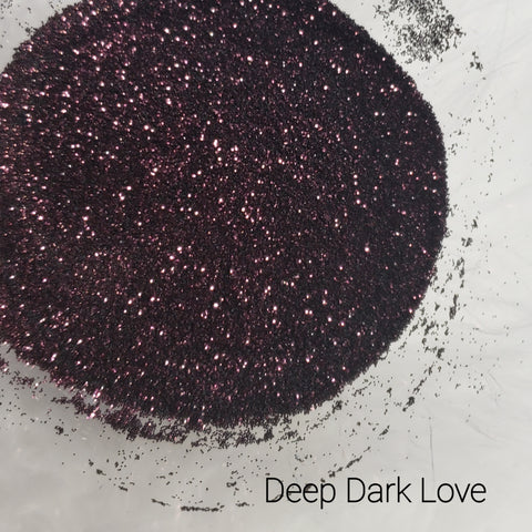 Cosmetic Metallic Loose Glitter Sales: DEEP DARK LOVE .008 ultra fine mix burgundy