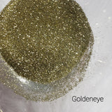 Cosmetic Metallic Loose Glitter Sales: GOLDENEYE .008 ultra fine gold