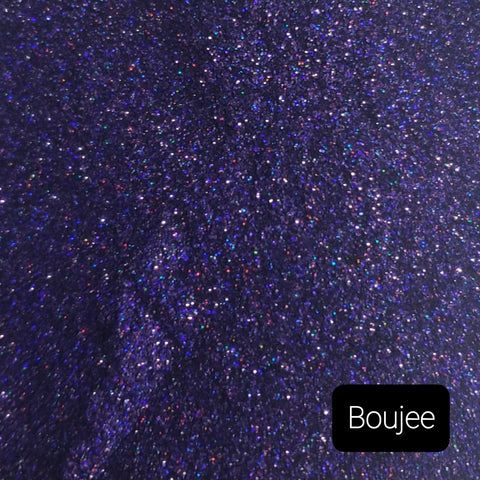 Holographic Cosmetic Loose Glitter Sales: BOUJEE .008 ultra fine custom mix purple