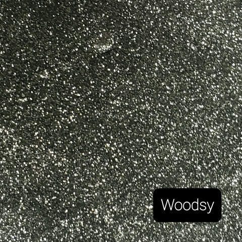 Cosmetic Opaque Iridescent Loose Glitter Sales: WOODSY opaque metallic mix green