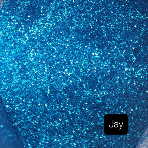 Cosmetic Metallic Loose Glitter Sales: JAY .008 ultra fine blue