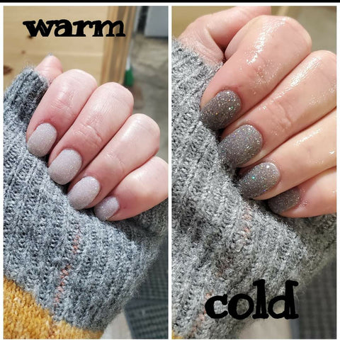 Twisted Night GLT4 Grey to White thermal Glitter***