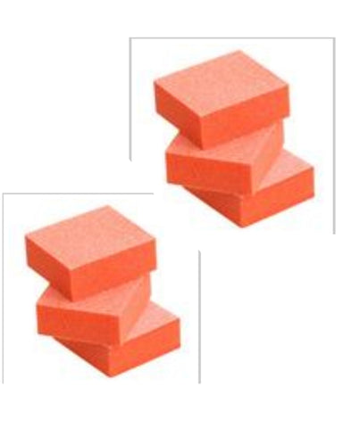 Accessories: Small Orange Buffing Blocks: QTY 6