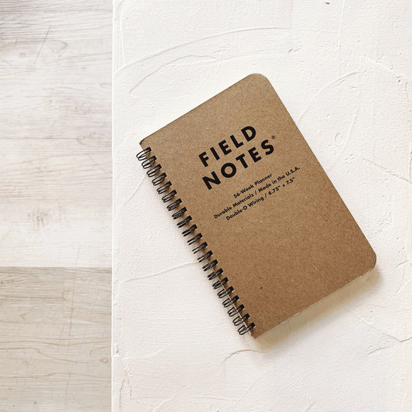 Field notes - 56 week planner