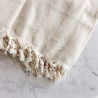 Turkish cotton throw blanket