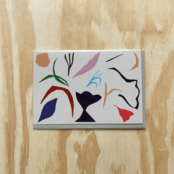 Abstract card - large