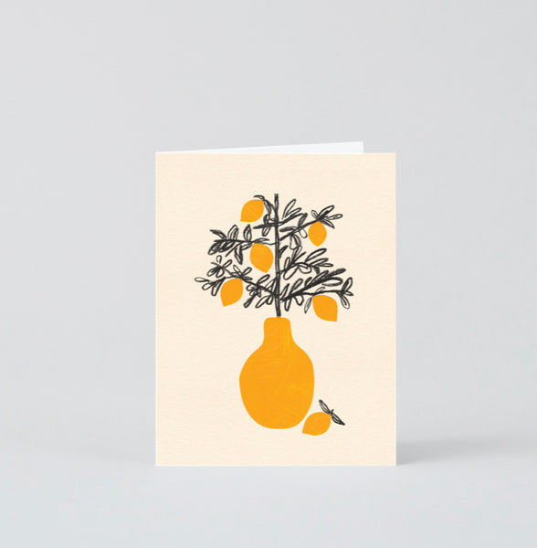 Lemon tree card - small