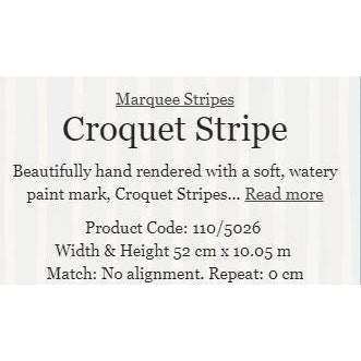 CROQUET STRIPE 5 COLOURS