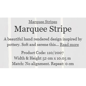 MARQUEE STRIPES 6 COLOURS