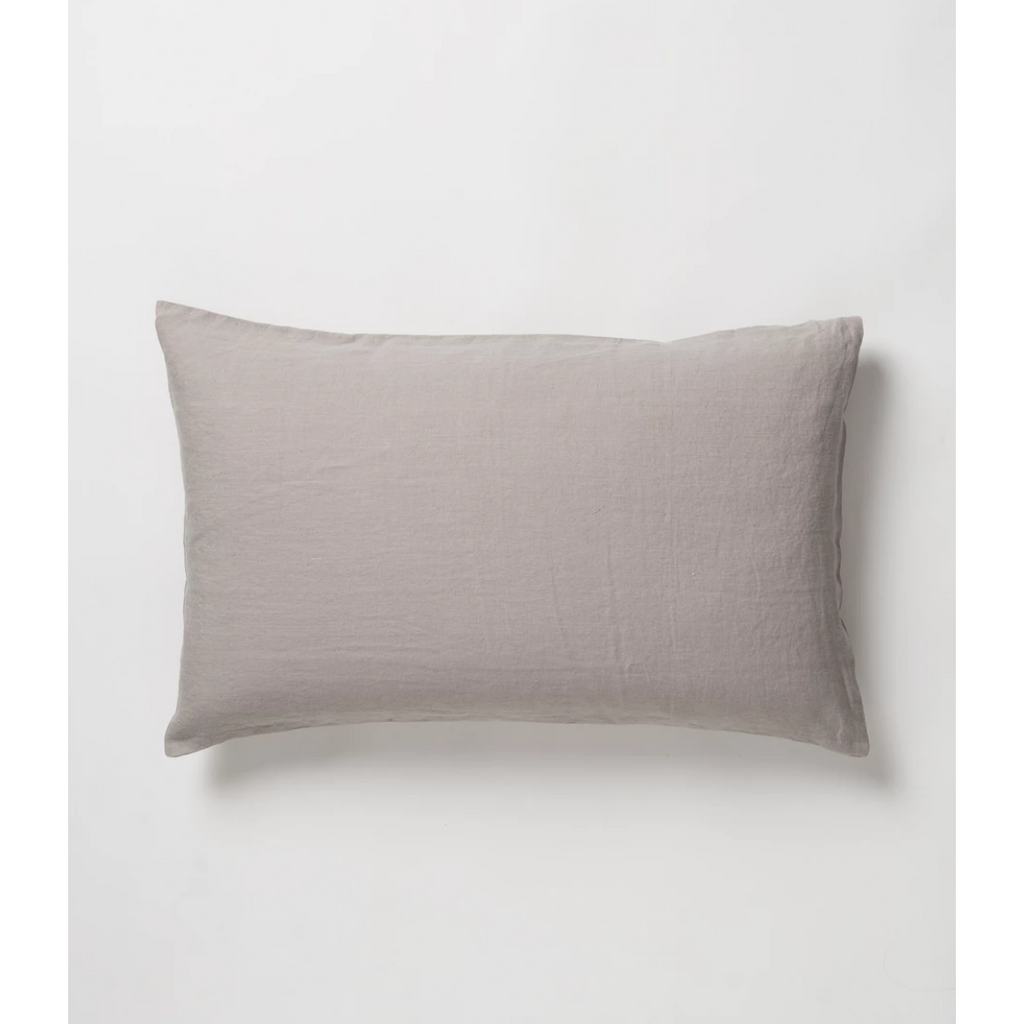 Sove Linen Pillowcase Pair - Ash