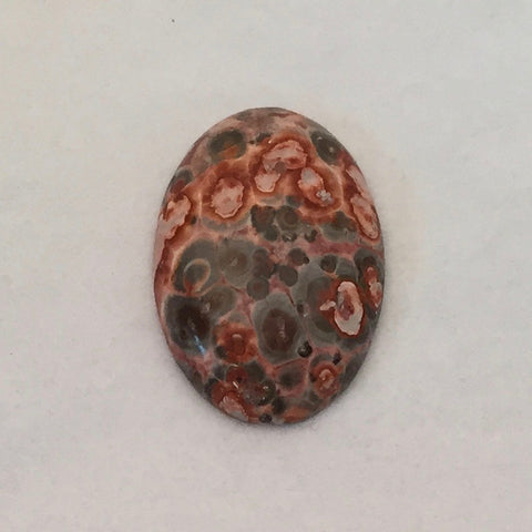 Leopardskin Jasper, 30x22mm
