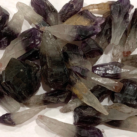 Dark Amethyst Points, 1/2 LB