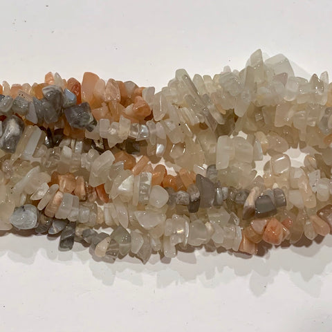 Moonstone Chip Beads