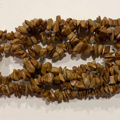Picture Jasper Chip Beads