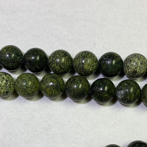 12mm Russian Jade Beads