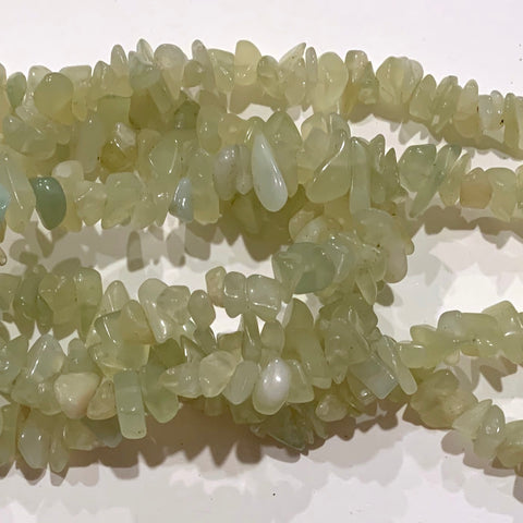 Serpentine Chip Beads