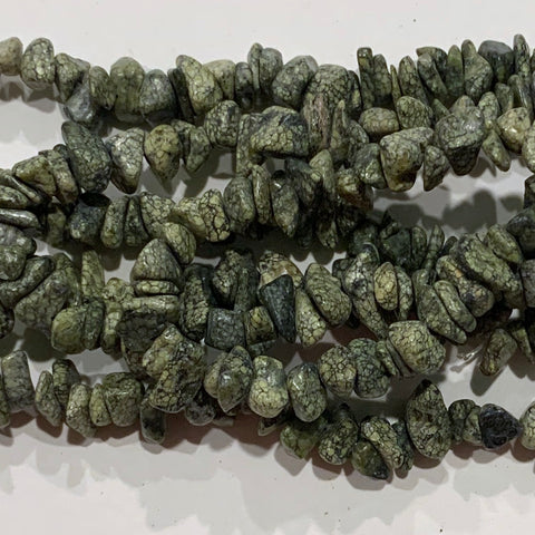 Russian Jade Chip Beads
