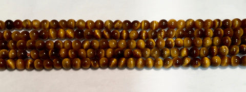 4mm Tiger Eye Beads
