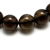 14mm Smokey Quartz Beads