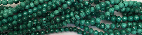 4mm Malachite Beads