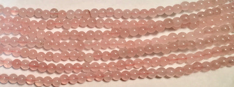 4mm Rose Quartz Beads(natural)