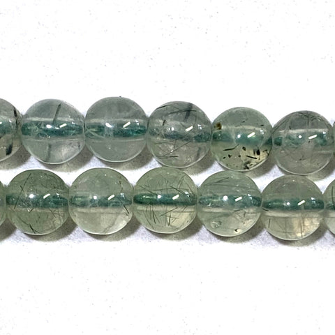 7mm Prehnite Beads