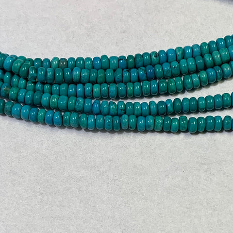 Dyed Magnesite Beads