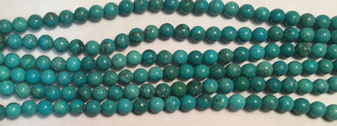 8mm Magnesite(dyed) Beads