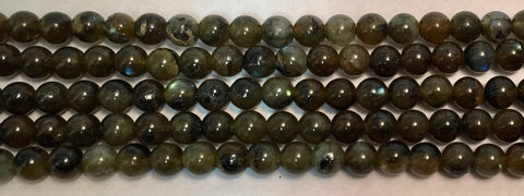 6mm Labradorite Beads
